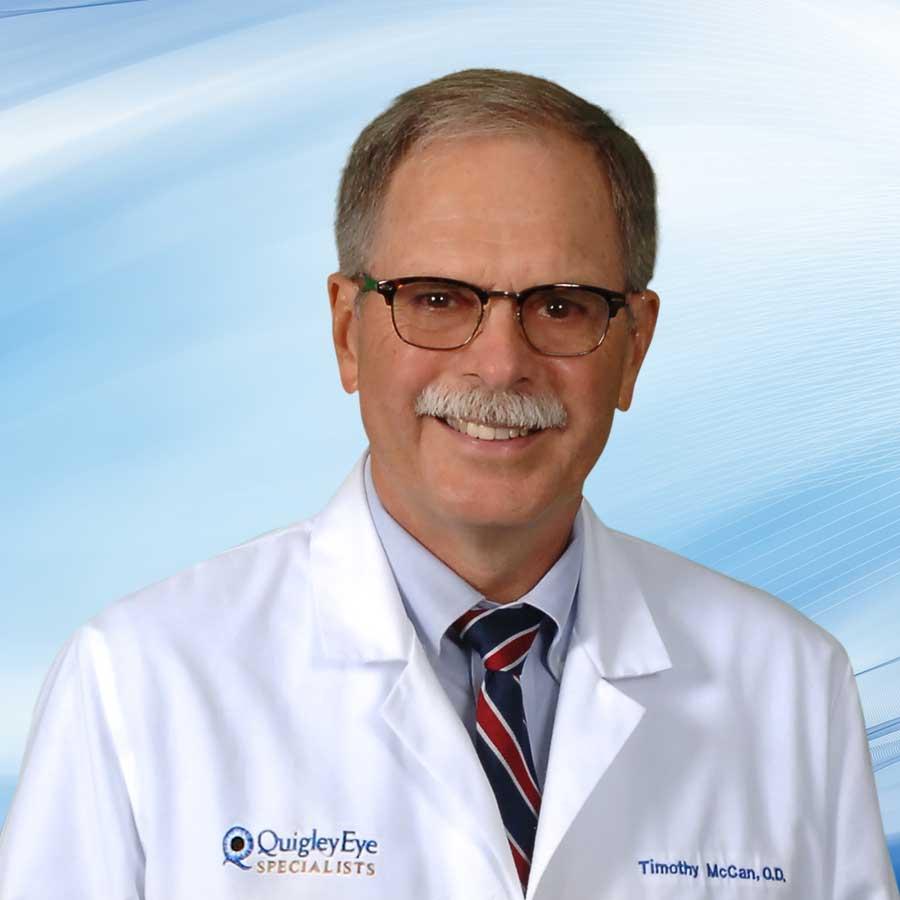 Timothy McCan, O.D. Board Certified Optometric Physician