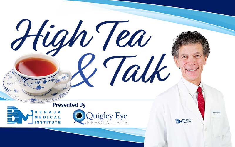 high tea and talk bejara medical institute